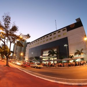 Fachada do North Shopping
