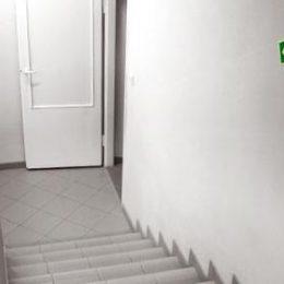 Escada Pressurizada para maior segurança
